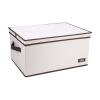 [Супермаркет] Джингдонг Бай Цзя ящик для хранения сортировки коробки встроенной рубашки и брюк с складным картонной складной оксфорд крышки ткани пыли отделочного ящиком для хранения