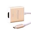 AMPCOM (AMPCOM) Тип-C до HDMI конвертер высокого разрешения Просвет воздуха Macbook Телевизор Проектор проектор USB-C 3.1 конвертерная головка из алюминиевого сплава золото проектор hitachi hcp 380wx hdmi rj45 usb
