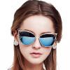 BLUEKIKI YEUX cateye fashion sunglasses women polarized mirror vintage glasses sunrun sunglasses polarized tr90 women sun glasses vintage luxury ladies designer eyewear oculos de sol feminino tr6039
