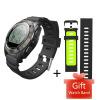 Makibes G02 Smart Sport Watch Heart Rate Monitor Pressure/Temperature Measurement Outdoor GPS Fitness Tracker smart baby watch q60s детские часы с gps голубые