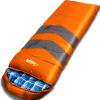 Уолкер Вулф открытый альпинизм кемпинг спальный мешок теплый холодный сплайсинга одиночный конверт толстый хлопок спальный мешок 1,35 синий спальный гарнитур трия саванна к1