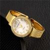 Новые модные женские женские часы для дам Браслетные часы Роскошные новые малые циферблатные серебряные наручные часы из нержавеющей стали Элегантные часы
