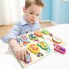 Специальный Боа (topbright) Цифровые детские познавательные головоломки 1-3 лет мальчики и девочки 3-6 лет детские развивающие игрушки