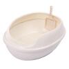 США номера карт ящик для мусора - типа бентонит три полузакрытых кошка туалета No. толстого кота ящик для мусора животное кошки фекалии бентонита кошачьих туалетов кошки унитаз белого молока для кошки