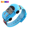 SKMEI Children Cartoon Creative Digital Watches Car Black Kids Fashion Wristwatches for Boys Girls Casual Student Watch 1241 children watch led digital sports relojes mujer boys girls fashion kids cartoon jelly relogio feminino wristwatches pinbo