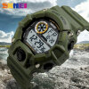 SKMEI Military Sports Watches Men Alarm 50M Waterproof Watch LED Back Light Shock Digital Wristwatches Relogio Masculino 1019 weide 2017 new men quartz casual watch army military sports watch waterproof back light alarm men watches alarm clock berloques