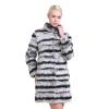 Sarsallya 2016 новая зимная щуба женщины из натурального меха кролика теплые зимние женщин пальто из меха шиншилла полу щуба из на