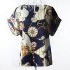 Летняя цветочная блузка Футболка с короткими рукавами Футболки с короткими рукавами Шифоновые рубашки Блузки Маленькие цветы Blusas Femininas 0 25 6mm terminal crimping plier tool bootlace ferrule crimper