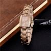 Розовые золотые женские часы 2017 Лучшие брендовые роскошные кварцевые браслеты Часы Женские наручные часы золота Элегантные часы  все цены