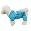 Pet модели собака плащ рюкзак плюшевый медведь Бишон щенок одежда Teddy одежды любимчика одежды светло-голубой № 4