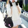 Мультфільм плюша мех сумка сумка сумка моды вушы мілыя кошкі сумка abag 6262