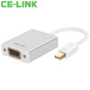 CE-LINK 1643 Mini DP to VGA-адаптер Mini Displayport Конверсионный кабель Apple MacBook / Air Pro Lightning Интерфейсный проектор Алюминий 6ft 1 8m high quality thunderbolt mini displayport display port dp to hdmi adapter cable for apple mac macbook pro air