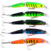Minnow приманки 5 цветов Fishaing Lures Рыболовные снасти 4.2 -10.66CM / 0.34oz-9.64G Fishing Bait kingdom fishing lures floating minnow 90mm 9g fishing tackle wobblers six color available model 5339