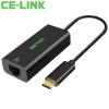CE-LINK Type-C сетевой адаптер USB-C к RJ45 внешний сетевой интерфейс k line адаптер usb украина