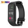SKMEI L38I Men Women Heart Rate Smart Wristband Color Screen Pedometer Calorie Sports Watches iOS Android Digital Wristwatches smart digital wristwatches pedometer sports wristband watch male and female temperature display students usb watches