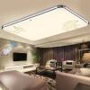 Прохладный Чи TCL LED потолочный светильник 72W безэлектродной лампы современного ресторана фара простая гостиная офис спальня лампа освещение Лампа прямоугольного светильник 93 * 65 * 10.5cm лампы освещение