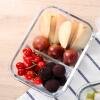 Jingdong супермаркет] [NC-8619 Keruisituo хранение свежей круглой стеклянной чаша коробка обеда коробка обед 500 мл monbento оригинальная двойной правили микроволновки обеда коробок японская сирень коробка 120 012 117