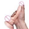 Thierry 20.5cm Реалистичная гибкая эротическая текстурированная яичка Вал фаллоимитатор Горячий надувной пенис с присоской Секс-иг фаллоимитатор 9 гелевый с присоской