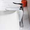 HIDEEP Ванная Смеситель для раковины Смеситель для горячей и холодной воды Латунь смеситель для раковины d