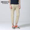 Мужская одежда Bosideng BOSIDENGMAN мужская корейская версия из девяти штанов брюки ноги девять штанов брюки 1262B19108 мелкая карта 33