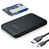 IT-директор Type-C / USB3.1 HDD корпус 2,5 дюйма SATA / M.2 NGFF (2242/2260/2280) SSD SSD внешний черный ящик IT-700N корпус для hdd orico 9528u3 2 3 5 ii iii hdd hd 20 usb3 0 5