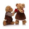 Бо Вэнь Сюн (BOWENBEAR) сельской местности пара кукла плюшевой игрушки куклы 30см высокой