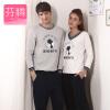 Фен Тенг пара пижамы FENTENG мужской весной 2017 новый мультфильм случайный костюм костюм мужской L9714287 цветок серый XXL костюм мужской игровой официант m l