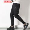 Бойцовский джип Slim Pants Мужские повседневные брюки Комфортные спортивные штаны Ноги Брюки Брюки Мужские 17095ZTX702 Черный 3XL