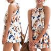 CANIS @ Women Holiday Mini Playsuit Женские комбинезоны Romper Летние пляжные шорты Сарафан