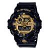 Casio (CASIO) G-SHOCK часы магии Два существенно водонепроницаемый противоударный антимагнитных мужчин кварцевые часы спортивные часы GA-110GB-1A часы casio casio ca077dmyug49