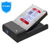 IT-директор IT-716S USB3.0 Мобильный жесткий база 2,5 / 3,5 дюйма твердотельный накопитель SSD универсальной последовательной SATA внешний жесткий корпус привод ноутбука черный картридж