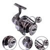 2017 Лоток Ручка Нет зазора 13 + 1BB Рыболовные катушки 2000-7000 Все металлические алюминиевые сплавы Body Fishing Reel Wheel Spinning Wheel Ryobi