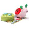Хао Юань плюшевых игрушки четыре детей электрического пульта дистанционного управления захолустные животных игрушки для животных - улитка рук для животных
