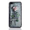 Литература и искусство Роза 3D визуальный эффект чехол для iphone 6 6s 7 7s плюс крышка случае мешок Капа Coque литература и искусство