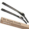 Wiper Blades for Toyota Corolla Saloon Europe Model 26&13 Fit Hook Arms 2008 2009 2010 2011 2012 2013 toyota corolla spacio модели 2wd