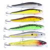 1pc Новый дизайн Картина Приманка для рыбной ловли 4.7 -11.94cm / 14.47g-0.51oz Minnow Lures 6 color Crankbait
