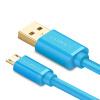 Эндрюс быстрая зарядка с зеленой линией передачи данных 2A Micro USB кабель для зарядки телефона зарядного устройства кабель подде