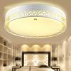 TCL Светодиодные потолочные светильники Удовольствие 24W Трехэтажные светильники для спальни с подсветкой для ресторанов Ресторанные светильники Round 465 * 120mm для спальни