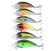 1PC Unpainted Приманка для рыбной ловли Экспортируется в Японию 3.55 -9cm Рыбалка Приманка 16.71g Крик Приманка 6 цветов Рыболовные снасти 4 # Крючок уокер приманка в спб