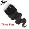 Nami Hair Brazilian Body Wave Virgin Hair Lace Closure 4x4 Free Middle Three Part 8-20 100% Human Hair Free Shipping платья laura scott платье