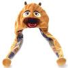 Boonic Bear Плюшевая игрушка Медведь-шапка Плюшевая шапка
