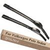 Wiper Blades for Volkswagen Polo Sedan / Vento 24&16 Fit Hook Arms 2010 2011 2012 2013 2014