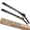 Wiper Blades for Toyota Avalon XX40 26&18 Fit Hook Arms 2013 2014 2015 2016 for toyota rav4 2013 2014 2015 2016 top roof rack side rails bars luggage carrier fixed type