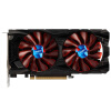 Yeston (Yeston) RX560-4G Д5 бог земли 1275 / 7000MHz 4GB / 128BIT / GDDR5 графика видеокарта asus rx 550 4gb rx550 4g