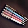 элегантность и алмазной шариковых ручек канцелярских 2 в 1 кристалл стилус ручку сенсорный экран с 5pcs / много цвета ручкой 2 в 1 емкостный сенсорный экран стилус и шариковая ручка для ipad 2 3 iphone 4 и 4s
