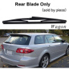 Wiper Blades for Mazda 6 First Generation 22&18 Fit Hook Arms 2002 2003 2004 2005 2006 2007 turbo for mazda bongo 1995 2002 engine j15a 2 5l 76hp rhf5 vj24 wl01 va430011 vb430011 vc430011 turbine turbocharger