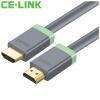 Фото CE-LINK HDMI цифровая линия высокой четкости 1 метр кабель удлинителя кабеля HDMI поддержка 4K * 2K компьютерный телевизионный кабель 2218 ce link hdmi цифровой кабель hd 5 метров hdmi кабель удлинительный кабель 4k 2k компьютерный кабель tv 2286
