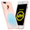 Machine Hall 8/7 Plus iPhone 8/7 Plus Case iPhone8 / 7 Plus Чехол для шифона Rhinestone Full Drop Anti-Wrestle TPU Мягкая оболочка 5.5 дюймов Orly Series Blue anti drop case for iphone 7 plus