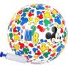 Хах детских игрушек мяч мяч мяч Дисней погладить Детский сад № 3 цвета Микки футбол