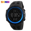 SKMEI Men Sports Watches Countdown Double Time Watch Alarm Chrono Digital Wristwatches 50M Waterproof Relogio Masculino 1251 skmei 1049 50m waterproof solar double movement double time shows men s sport watch black